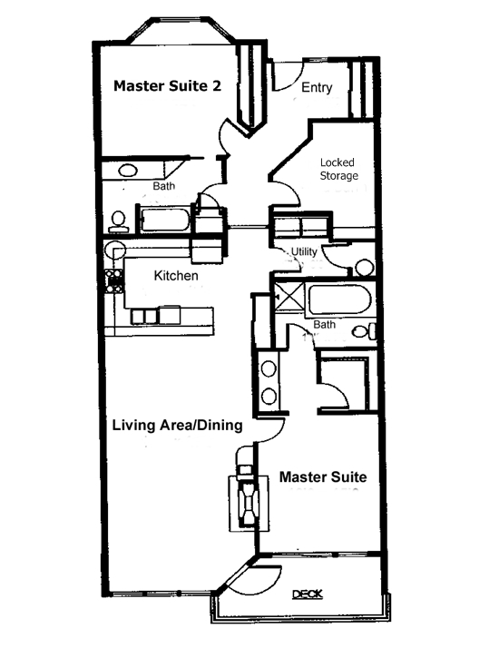 Floor Plan for Whalers View