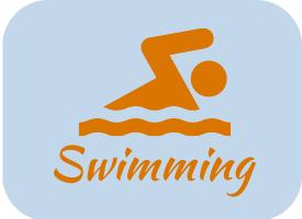 Swimming in Sunriver Oregon